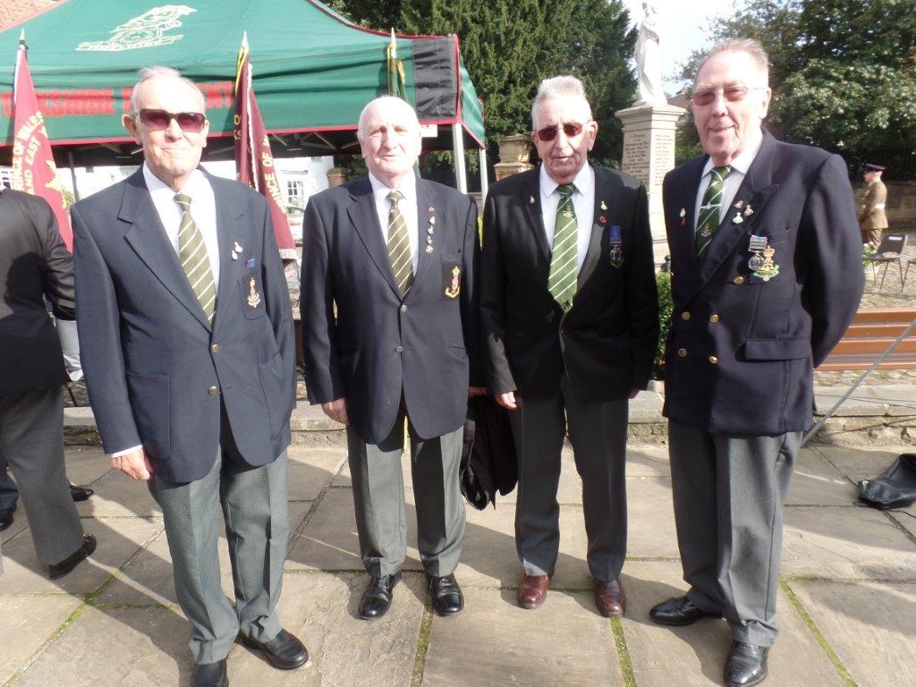 Commemoration To Honour Captain Archie White VC.Boroughbridge 036