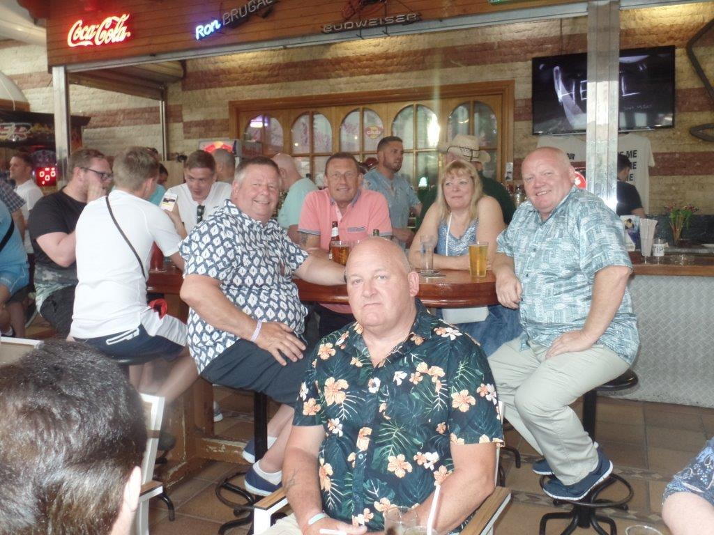 Green Howards Benidorm.Fun In The Sun.Mon 28th Mon 4th June 2018 012