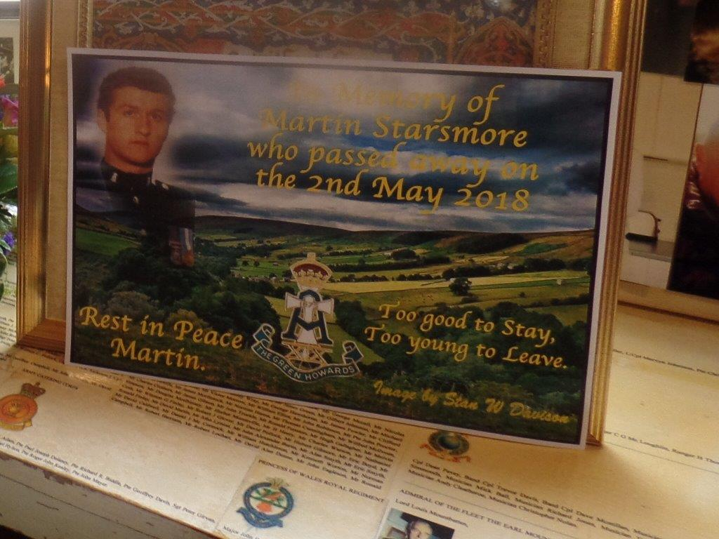 Martin Starsmore Funeral Wed 16th May 20