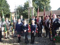 Commemoration To Honour Captain Archie White VC.Boroughbridge 105