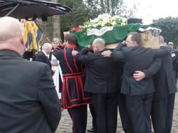Kenny McGraths Funeral.Guisbrough Priory Wed 1st Nov 2017 300
