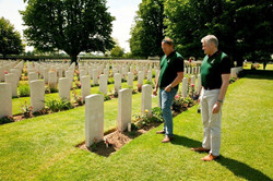 Day 2 Normandy Bayeaux CWG Cemetery 02