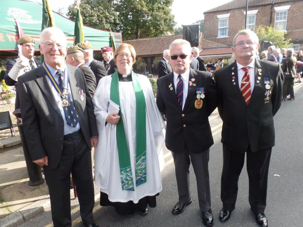 Commemoration To Honour Captain Archie White VC.Boroughbridge 037