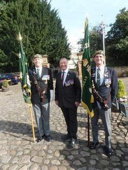 Commemoration To Honour Captain Archie White VC.Boroughbridge 120