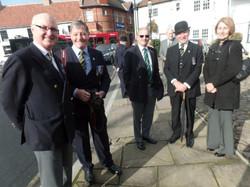 Commemoration To Honour Captain Archie White VC.Boroughbridge 030