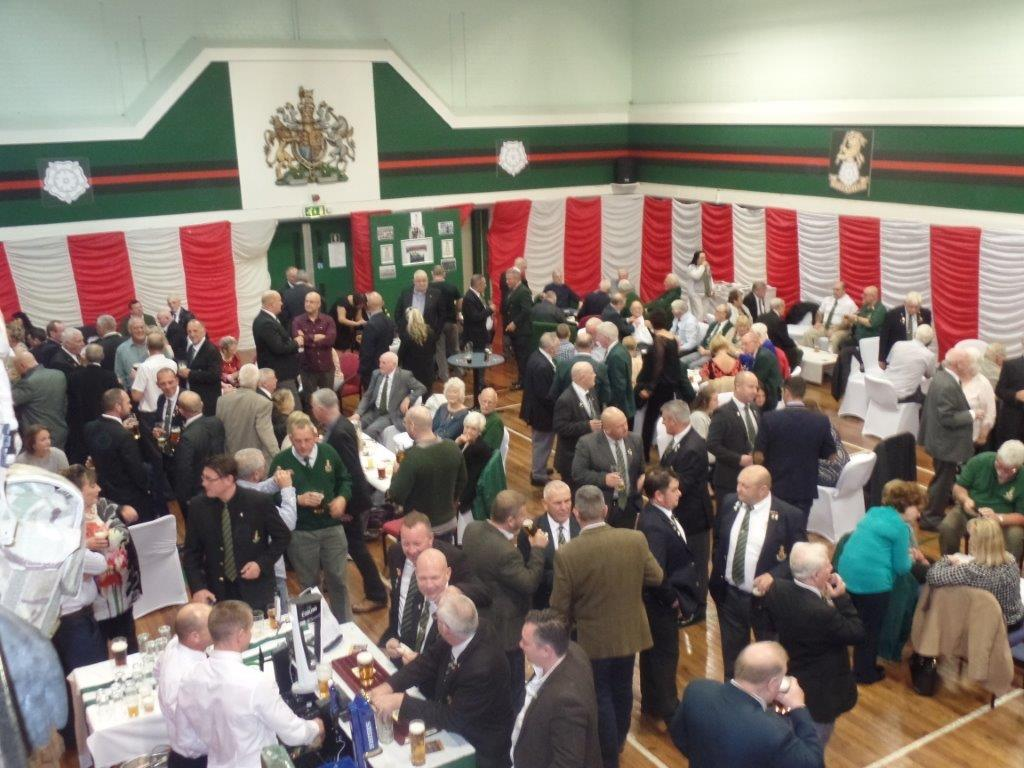Green Howards Reunion,T.A  Centre Stockton Rd,Sat 15th Oct 2016 012