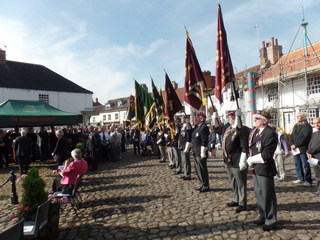 Commemoration To Honour Captain Archie White VC.Boroughbridge 086