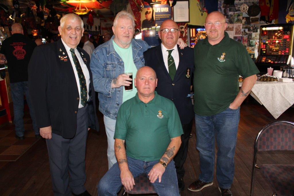 Green Howards Reunion Sun 8th Oct 2017 T.A Centre +Don Bar 096