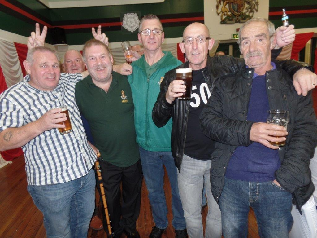 Green Howards Reunion.T.A Centre Stockton Rd.Fri 14th Oct 104