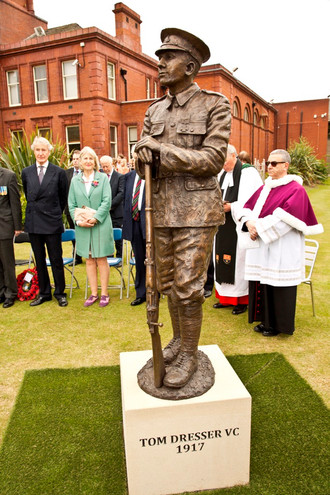 Unveiling ofTom Dresser VC Middlesbrough Photos Submitted by Tom Wharton