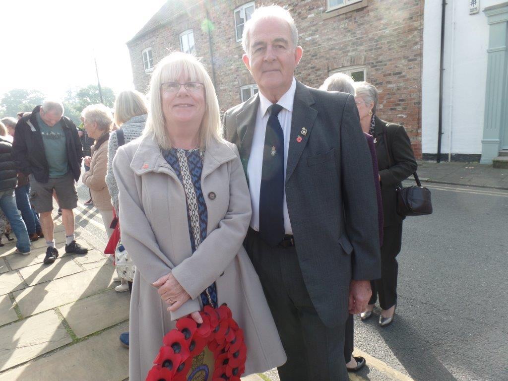 Commemoration To Honour Captain Archie White VC.Boroughbridge 040