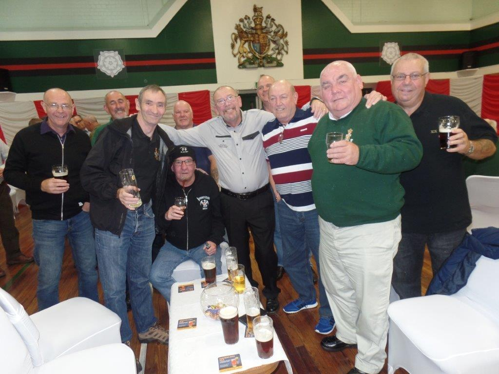 Green Howards Reunion.T.A Centre Stockton Rd.Fri 14th Oct 015