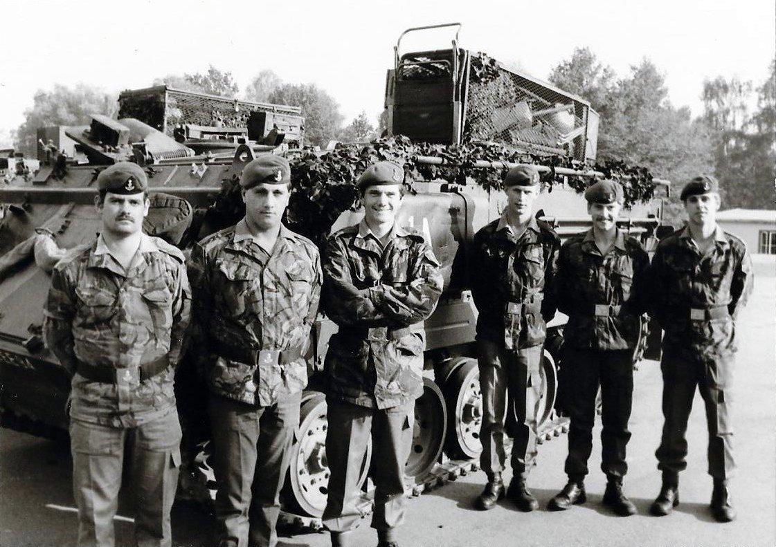 17 - A Coy HQ crews