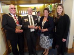 Commemoration To Honour Captain Archie White VC.Boroughbridge 143