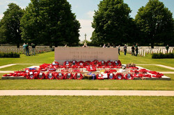 Day 2 Normandy Bayeaux CWG Cemetery 07