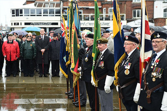 Remembrance Sunday: Middlesbrough 2015