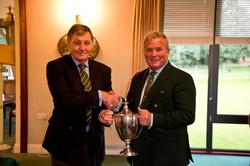 Roger (Charlie) Helmn winner Officer Cup_