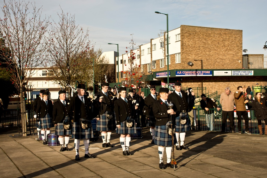 THE PIPE BAND 15