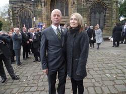 Kenny McGraths Funeral.Guisbrough Priory Wed 1st Nov 2017 017