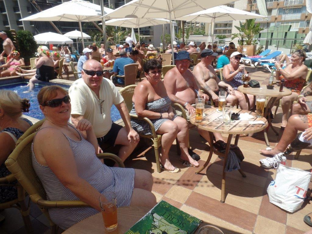 Green Howards.Benidorm Fun In The Sun.Mon 28th,Mon 4th June 2018 332