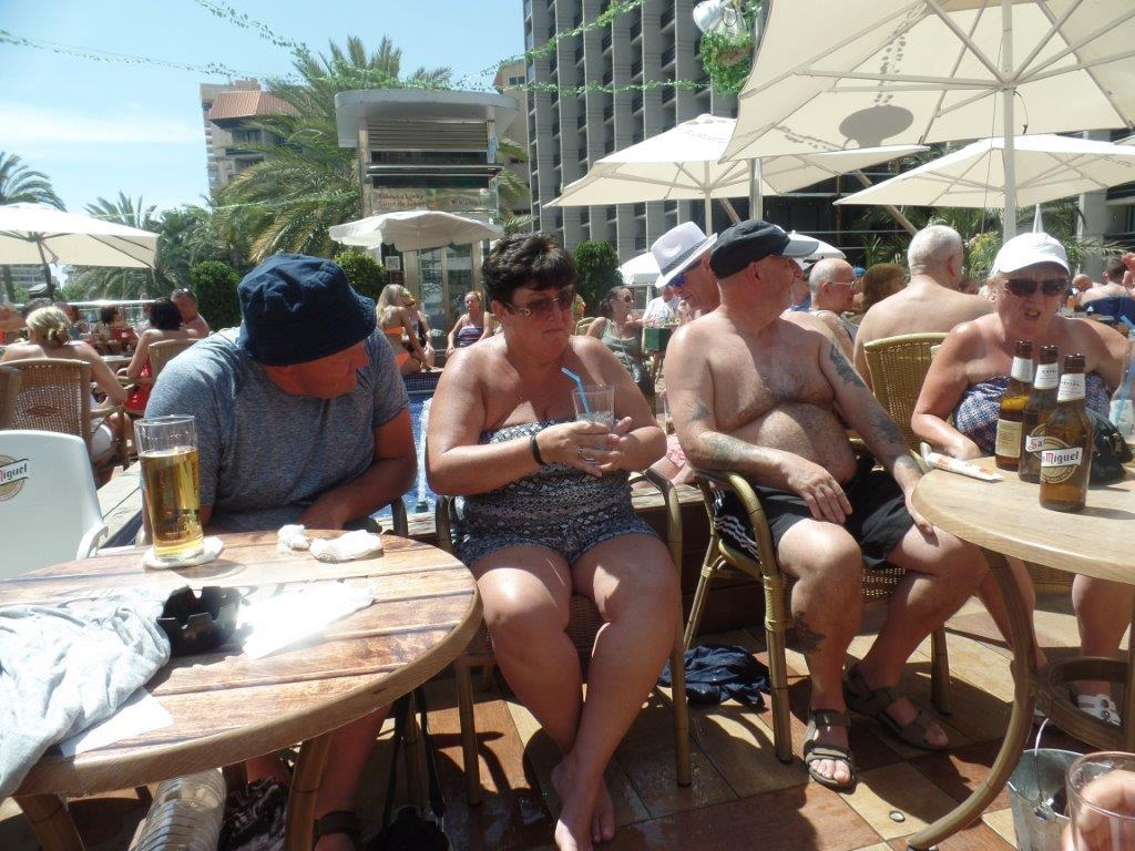 Green Howards.Benidorm Fun In The Sun.Mon 28th,Mon 4th June 2018 356