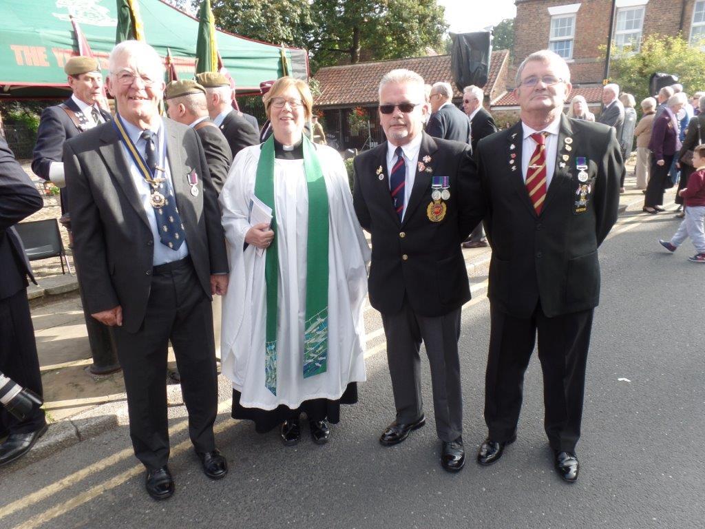 Commemoration To Honour Captain Archie White VC.Boroughbridge 038