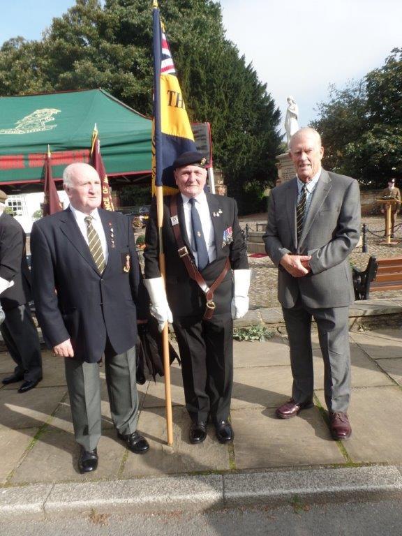 Commemoration To Honour Captain Archie White VC.Boroughbridge 034