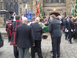 Kenny McGraths Funeral.Guisbrough Priory Wed 1st Nov 2017 103