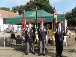 Commemoration To Honour Captain Archie White VC.Boroughbridge 015