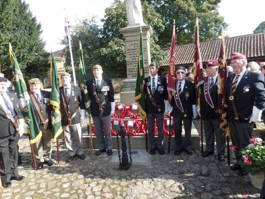Commemoration To Honour Captain Archie White VC.Boroughbridge 109