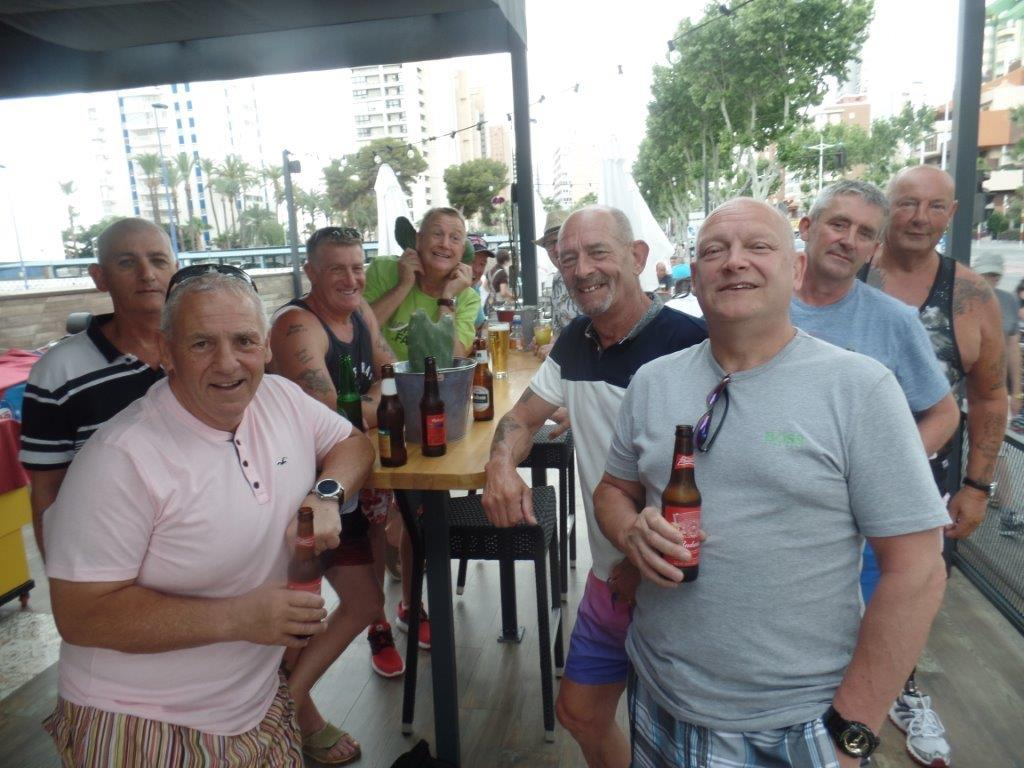 Green Howards Benidorm. Fun In The SunMon 28th May Mon 4th June 145