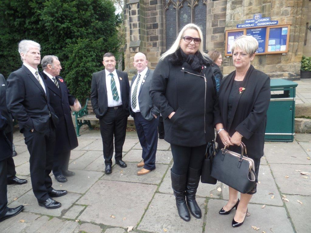 Kenny McGraths Funeral.Guisbrough Priory Wed 1st Nov 2017 007