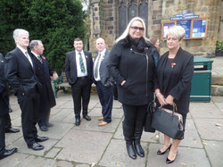 Kenny McGraths Funeral.Guisbrough Priory Wed 1st Nov 2017 007