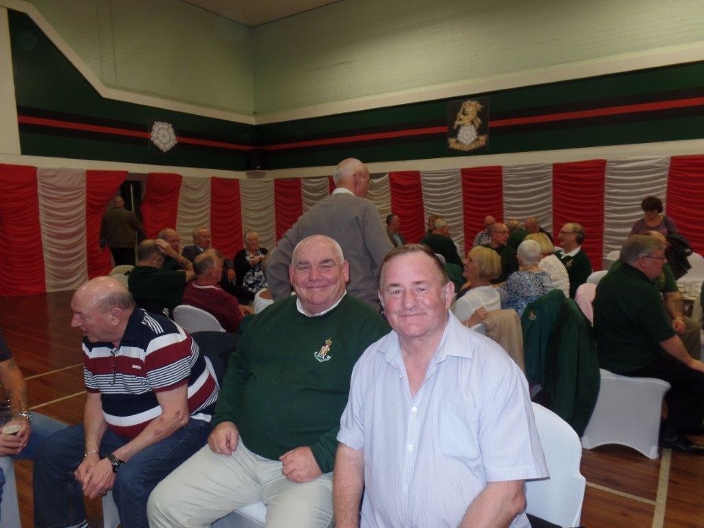 Green Howards Reunion.T.A Centre Stockton Rd.Fri 14th Oct 100