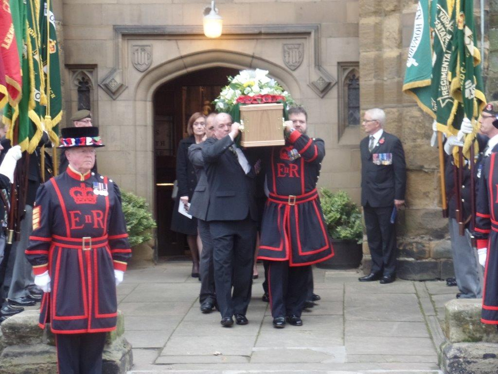 Kenny McGraths Funeral.Guisbrough Priory Wed 1st Nov 2017 102