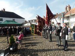 Commemoration To Honour Captain Archie White VC.Boroughbridge 087