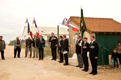 Day 2 Normandy Hollis VC Hut 17