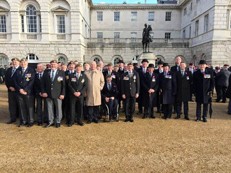 Remembrance Sunday 2017 in London