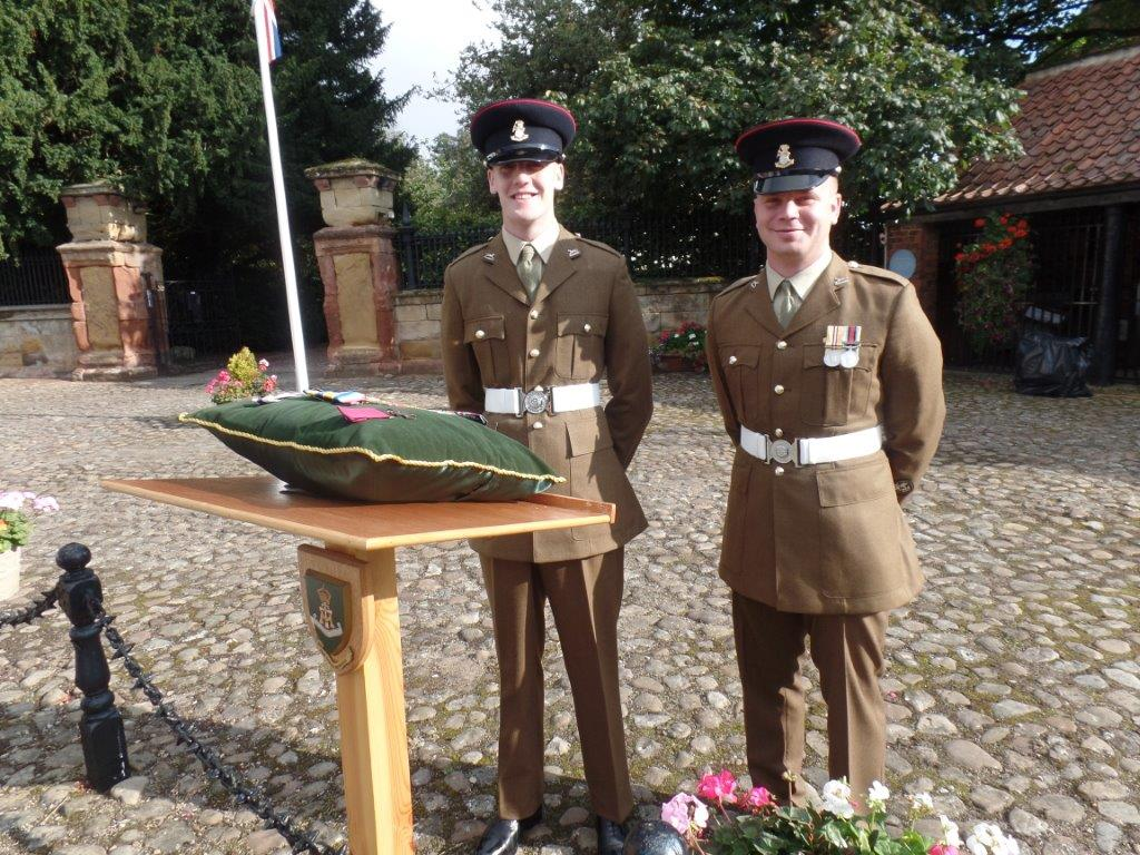 Commemoration To Honour Captain Archie White VC.Boroughbridge 026