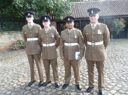 Commemoration To Honour Captain Archie White VC.Boroughbridge 058