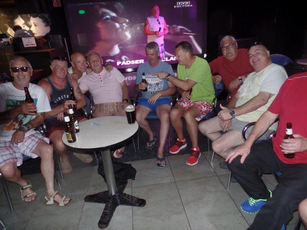 Green Howards Benidorm. Fun In The SunMon 28th May Mon 4th June 202