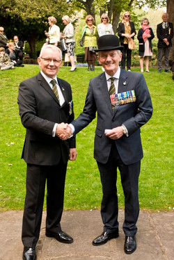 Colonel Clive Mantell MBE