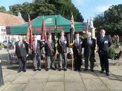 Commemoration To Honour Captain Archie White VC.Boroughbridge 017