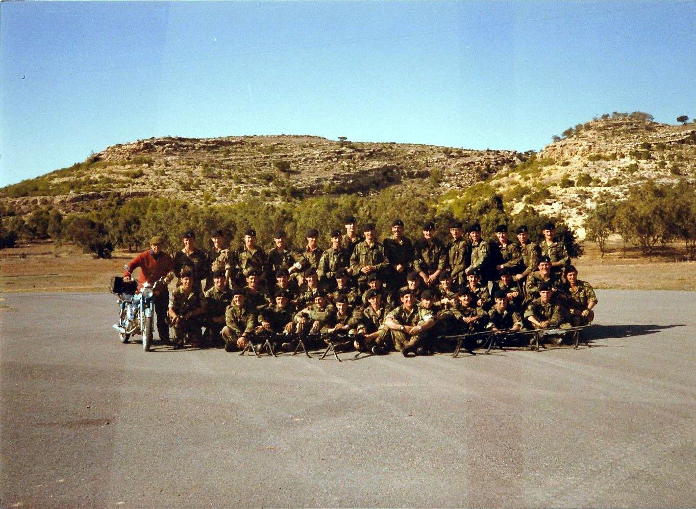 15-  A Coy shooting team Dhekelia 1981