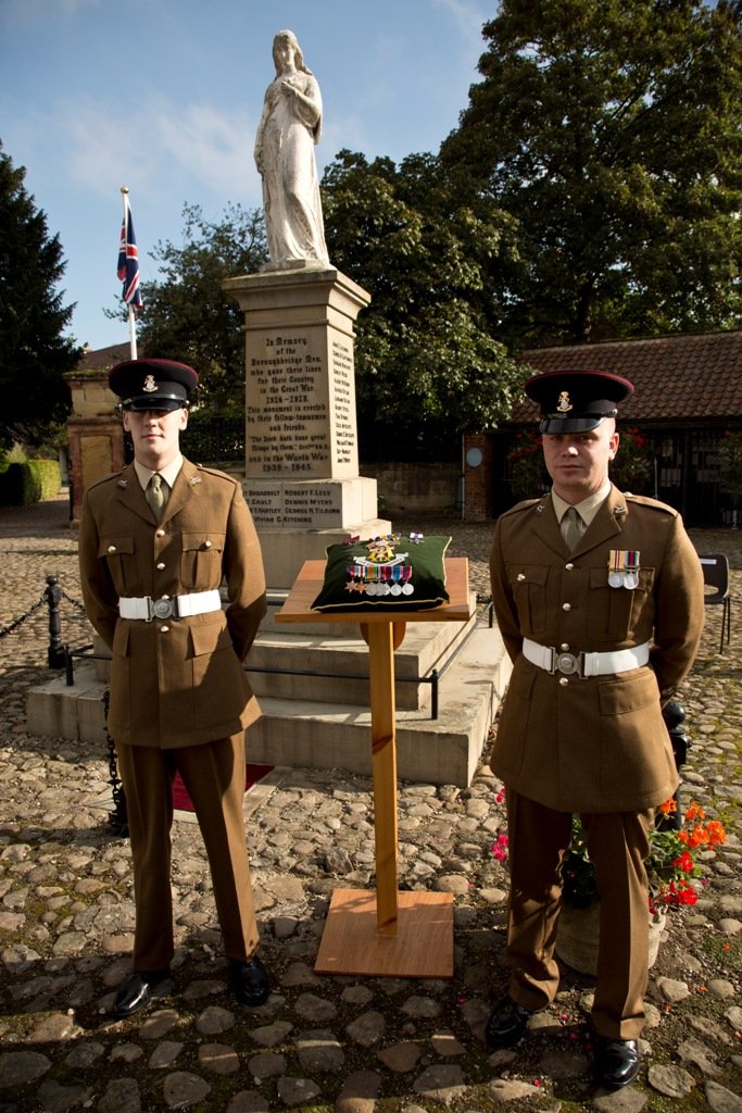 Boroughbridge Cenotaph & Medals