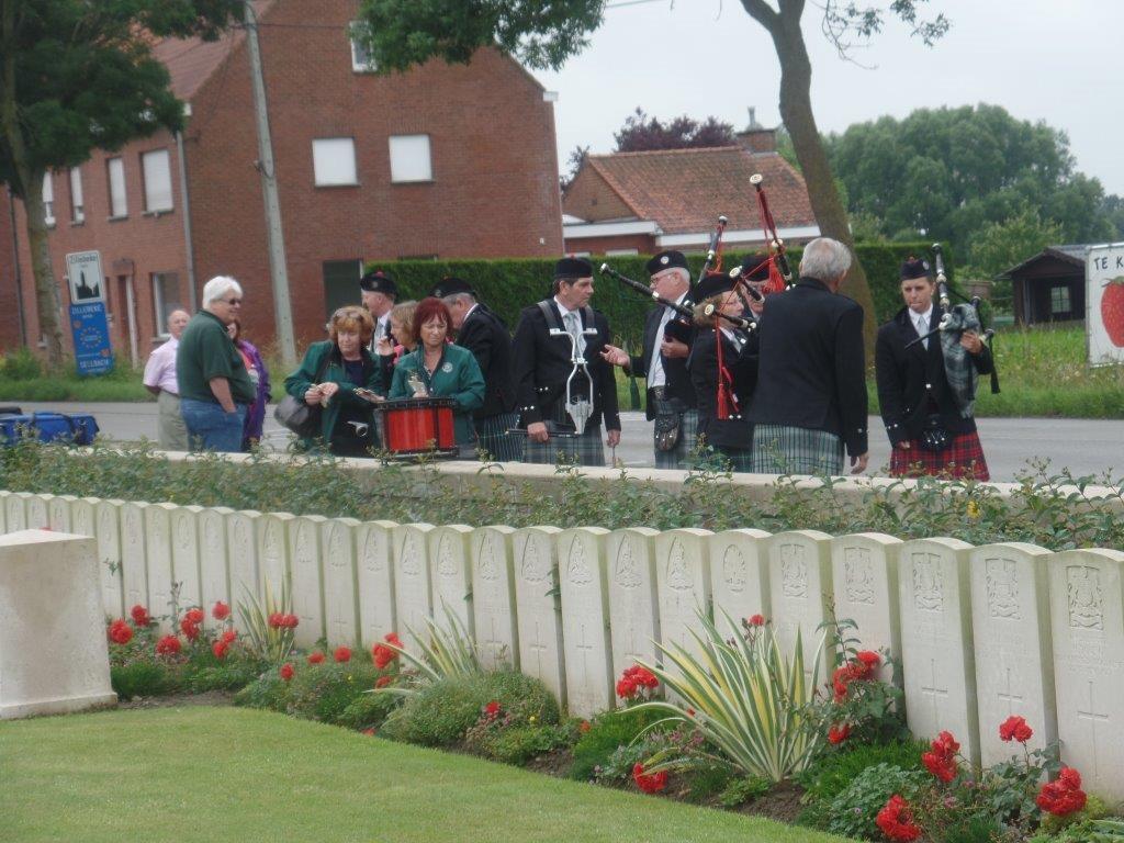 Ypres,Tynecot,Passchendale,Belgium 28th June 3rd July 2016 107