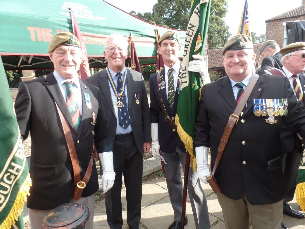 Commemoration To Honour Captain Archie White VC.Boroughbridge 029