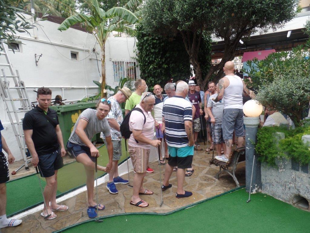 Green Howards Benidorm. Fun In The SunMon 28th May Mon 4th June 151