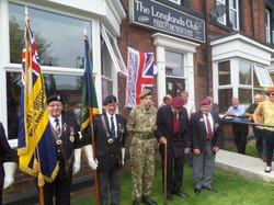 Stan Hollis V.C Memorial.Longlands Club Sat 2nd Aug 2014 017