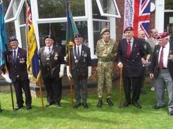 Stan Hollis V.C Memorial.Longlands Club Sat 2nd Aug 2014 015